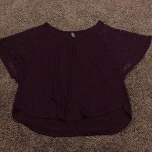 Dark purple Vanity top